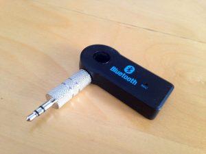 iPhone Samsung Lg Bluetooth Aux Araç Kiti: bluetooth alıcı ve stereo jak