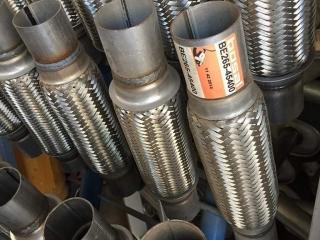 Egzoz spirali tamiri: Bossal marka, Alman malı spiraller.