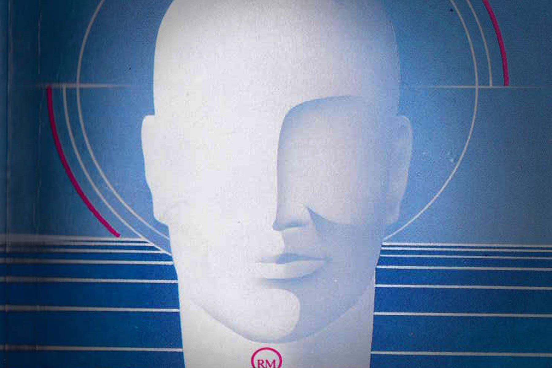 Auspensky, İnsanın Bilinmeyen Psikolojisi kitabının kapağından bir ayrıntı.